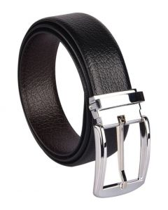 Woodland Import Black Leather Belt
